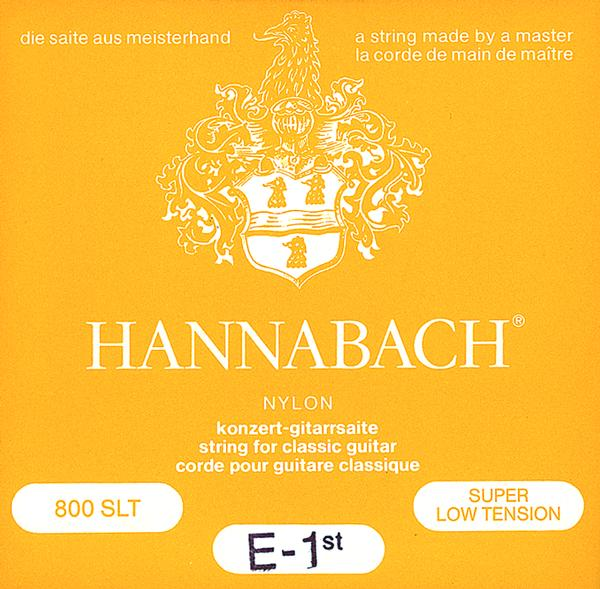 Hannabach 800SLT (Light Tension) Classical Guitar String Sets