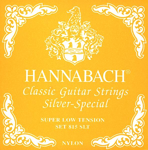 Hannabach 815SLT 4/4 Guitar Strings (super light tension) Classical Guitar String Sets