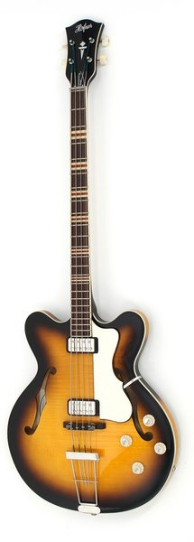 Höfner Contemporary Verythin Bass (sunburst) 4-String Electric Basses