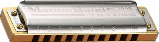 Hohner Marine Band Deluxe (C-Dur)