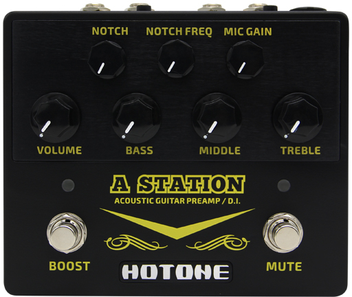 Hotone A Station Acoustic Guitar Preamps
