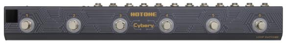 Hotone Cybery / Loop Switcher Phrase Sampler/Looper Pedals