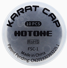 Hotone Karat Cap Footswitch Cap for Effects Pedals