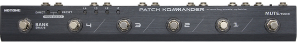 Hotone Patch Kommander Effect Pedal Switchers