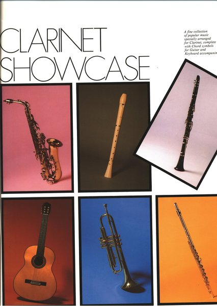 IMP Clarinet Showcase Songbooks for Clarinet