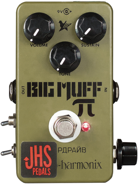JHS Pedals EXH Green Russian Pi 'Moscow Mod'