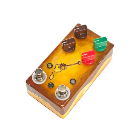 JHS Pedals Honey Comb Deluxe Tremolo Hand Painted