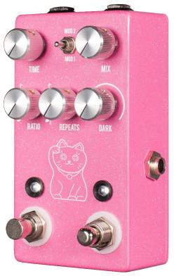 JHS Pedals Lucky Cat - Delay (pink)