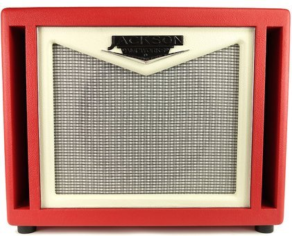 Jackson Ampworks 1x12 Dual Ported Red