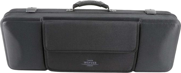 Jakob Winter Case for Viola 15'-16,5' (black with black music pocket)