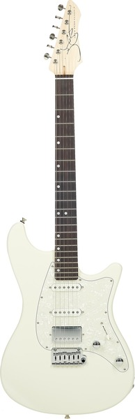 John Page Classic Ashburn HSS (olympic white/rosewood fingerboard)