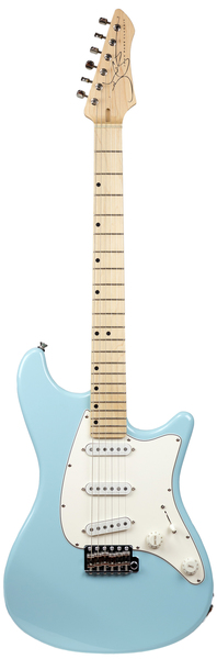 John Page Classic Ashburn MN (daphne blue/maple fingerboard)