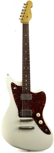 K-Line Guitars San Bernardino RW H-H (olympic white) Alternative Design Guitars