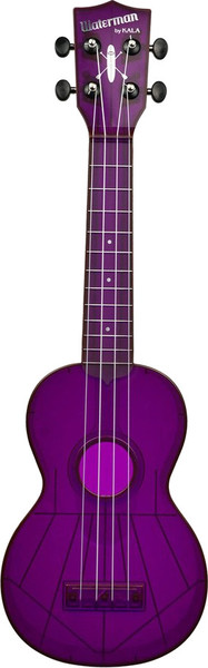Kala Waterman Fluorescent (purple grape) Sopran-Ukulele
