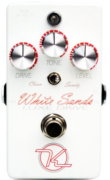 Keeley White Sands Luxe Drive Distortion Pedals