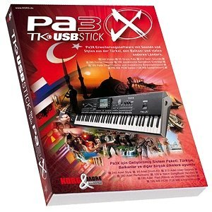 Korg Pa 3X TK Software Keyboard Upgrade Kit
