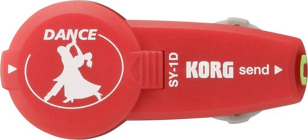 Korg SY-1D SyncDancing (Red) In-Ear Metronomes