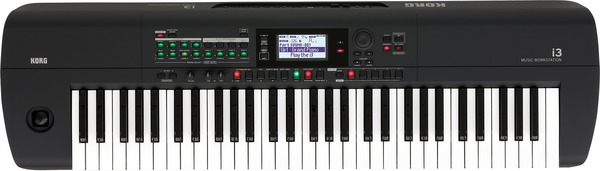 Korg i3 (61 keys - black) Keyboards 61 Tasten