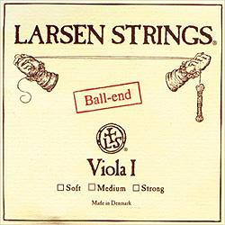 Larsen A Chromstahl I 4/4 (Medium) A-Strings for Viola