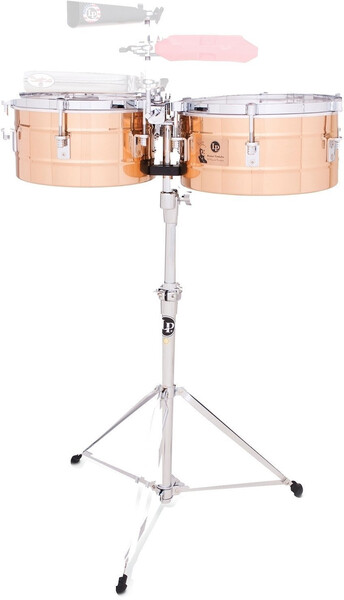 Latin Percussion 257-BZ Tito Puente (14' & 15' Bronze) Timbales