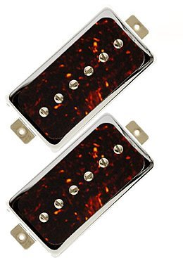 Lollar Guitars Single-Coil for Humbucker Set of 2 (nickel tortoise) Elektrische Gitaar Pickup Sets