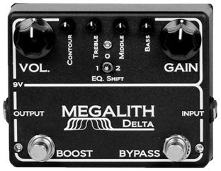 MI Audio Megalith Delta Distortion Pedals