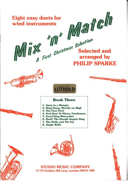 Mix 'n' Match Eight easy duets for wind instruments Woodwind Instruments Songbooks