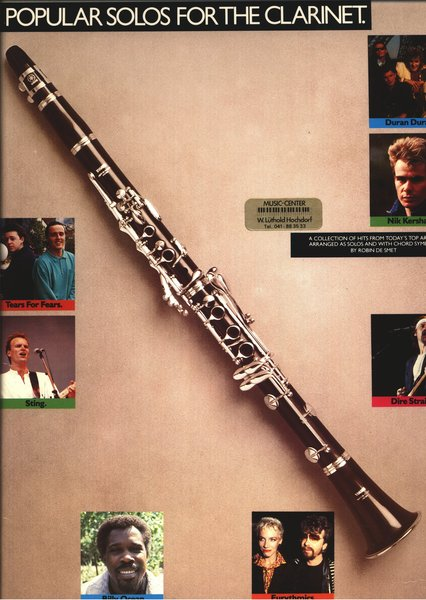 Popular Solos for the Clarinet Textbooks for Clarinet