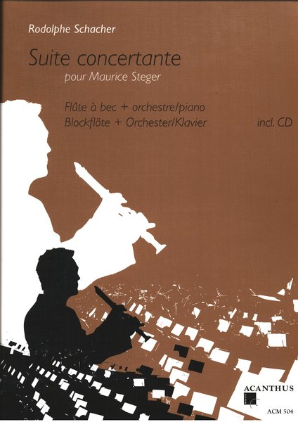 Suite Concertante Maurice Steger Songbooks for Recorder
