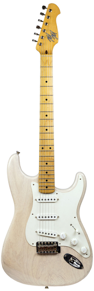 Mario Guitars S-Style Light Aged (Mary Kaye White) Modelos De Guitarra Eléctrica ST