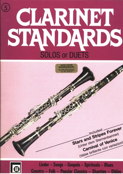 Melodie Edition Clarinet Standards Textbooks for Clarinet