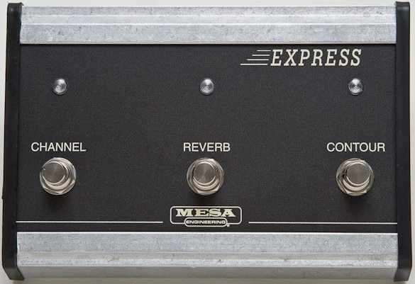 Mesa Boogie Footswitch - Express Series Amps / MB 3-Fach Pedal Express (Functions: Channel, Reverb & Contour Switch) Pedais