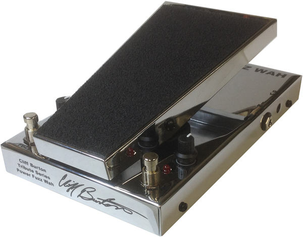 Morley M2 Cliff Burton Fuzz Wah Limited Chrome Wah-Wah Pedals