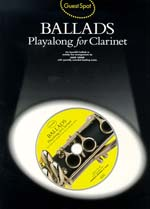 Music Sales Ballads Playalong / Guest Spot Songbooks for Clarinet