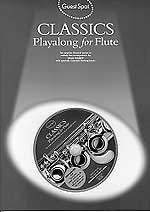 Music Sales Classics Playalong / Guest Spot Songbooks for Flute