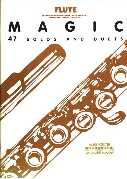 Music Sales Flute Magic 47 solos and Duets Textbooks for Soprano Recorder