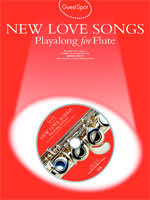 Music Sales New Love Songs / Guest Spot Songbooks for Flute