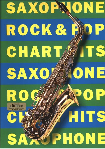 Music Sales Saxophone Rock Pop Songbooks for Saxophone