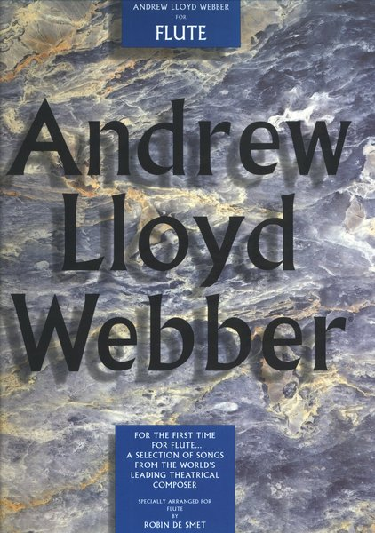 Music Sales Selection Webber Andrew Lloyd Songbooks for Flute