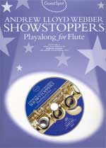 Music Sales Showstoppers Webber Andrew Lloyd / Guest Spot Songbooks for Flute