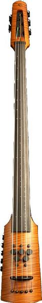 NS-Design CR Electric Omni Bass 5-String E-C / CR5 (amber) Silent Double Basses