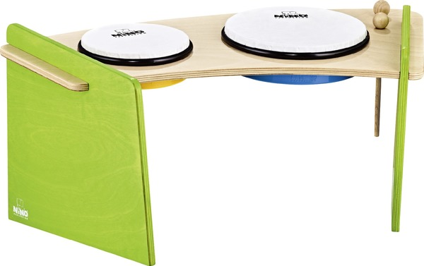 Nino Percussion Hand Drum Set (2 pieces) Percussion für Kinder