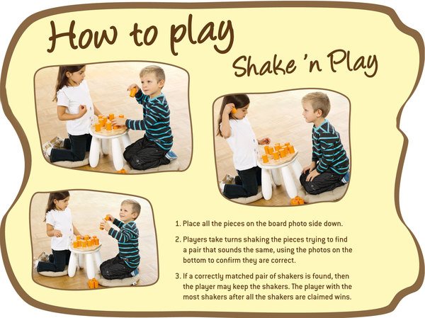 Nino Shake'n Play (orange)