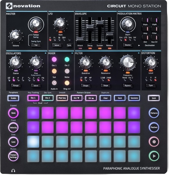 Novation Circuit MonoStation Synthesizer-Modul