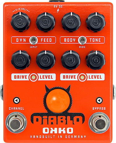 Okko Diablo Dual Distortion Pedal