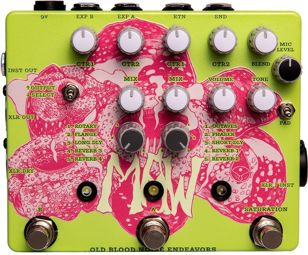 Old Blood Noise Endeavors MAW XLR Pedal