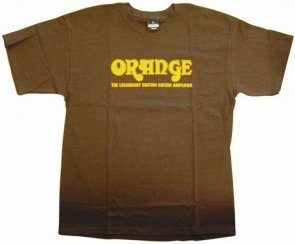 Orange Classic T-Shirt (Brown S) T-Shirts Size S