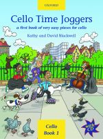 Oxford University Press Cello Time Joggers Vol.1 Blackwell Kathy & David / First Book of very easy pieces (incl. CD)