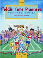 Oxford University Press Fiddle Time Runners Blackwell Kathy & David / Second Book of Easy Pieces (no CD) Musikalien-Literatur Streichinstrumente