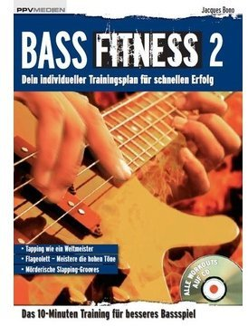 PPV Bass Fitness 2 / Bono Jacques (incl. CD - für E-Bass)